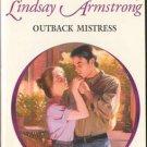 Outback Mistress by Lindsay Armstrong Harlequin Presents Novel Book 0373121245