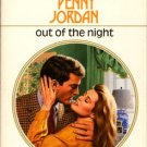 Out Of The Night by Penny Jordan Harlequin Presents Romance Novel Book Softcover 0373114273 #1427