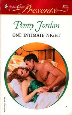 One Intimate Night by Penny Jordan Harlequin Presents Romance Novel Book 0373121466