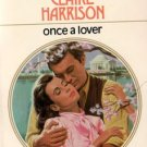 Once a lover by Claire Harrison Harlequin Presents Romance Novel Book 0373107366