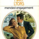 Mended Engagement by Mary Lyons Harlequin Presents Romance Novel Book 037310796X