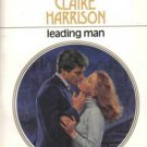 Leading Man by Claire Harrison Harlequin Presents Love Fiction Novel Romance Book
