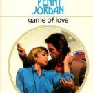 Game Of Love by Penny Jordan Harlequin Presents Novel Romance Book 0373114427