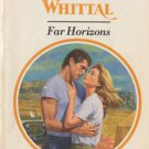 Far Horizons by Yvonne Whittal Harlequin Presents Novel Romance Book Fiction Love