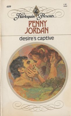 Desire's Captive by Penny Jordan Harlequin Presents Novel Romance Book 0373106092