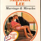 Marriages & Miracles by Miranda Lee Harlequin Presents Novel Love Romance Book 0373117841