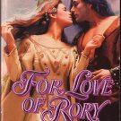 For Love Of Rory by Barbara Leigh Harlequin Historical Romance Novel Book 0373288972