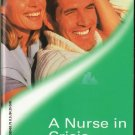 A Nurse In Crisis by Lilian Darcy Harlequin Medical Romance Novel Book Fiction Fantasy