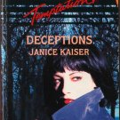 Deceptions by Janice Kaiser Harlequin Temptation Romance Novel Book 0373255667