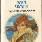 High Tide At Midnight by Sara Craven Harlequin Presents Romance Novel Book Fiction Fantasy Love