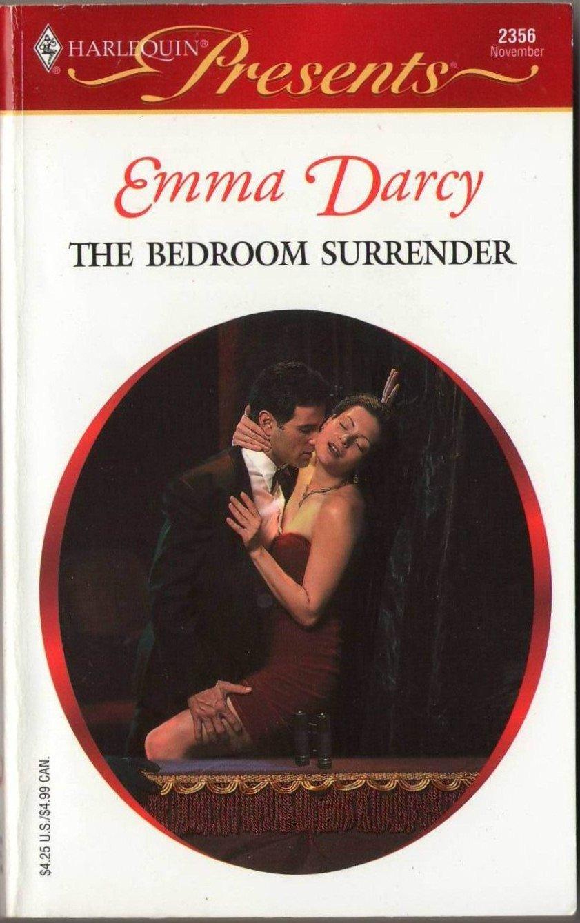 The Bedroom Surrender by Emma Darcy Harlequin Presents Romance Novel Book 0373123566