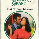 With Strings Attached by Vanessa Grant Harlequin Presents Romance Novel Book 0373115288