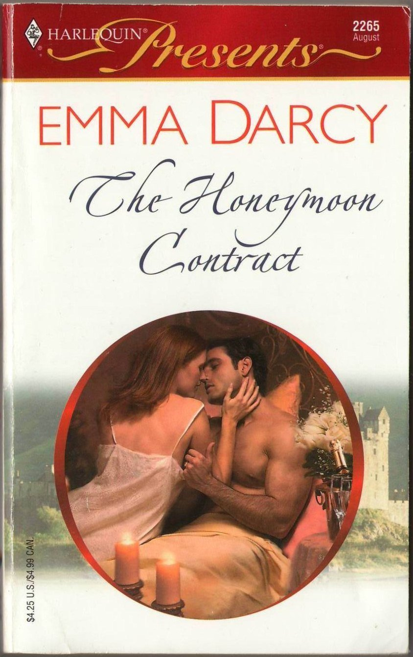 The Honeymoon Contract by Emma Darcy Harlequin Presents Romance Novel Book 0373122659