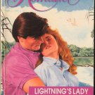Lightning's Lady by Valerie Parv Harlequin Romance Fantasy Love Novel Book 0373031254