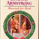 Married For Real by Lindsay Armstrong Harlequin Presents Love Novel Book 0373119259