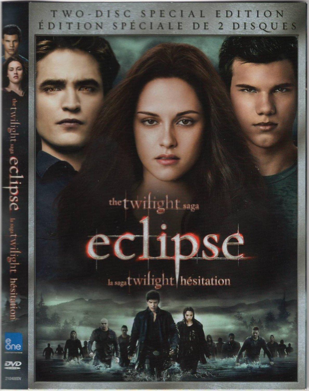 The Twilight Saga: Eclipse Hesitation Special Edition 210400DV DVD Movie Region 1