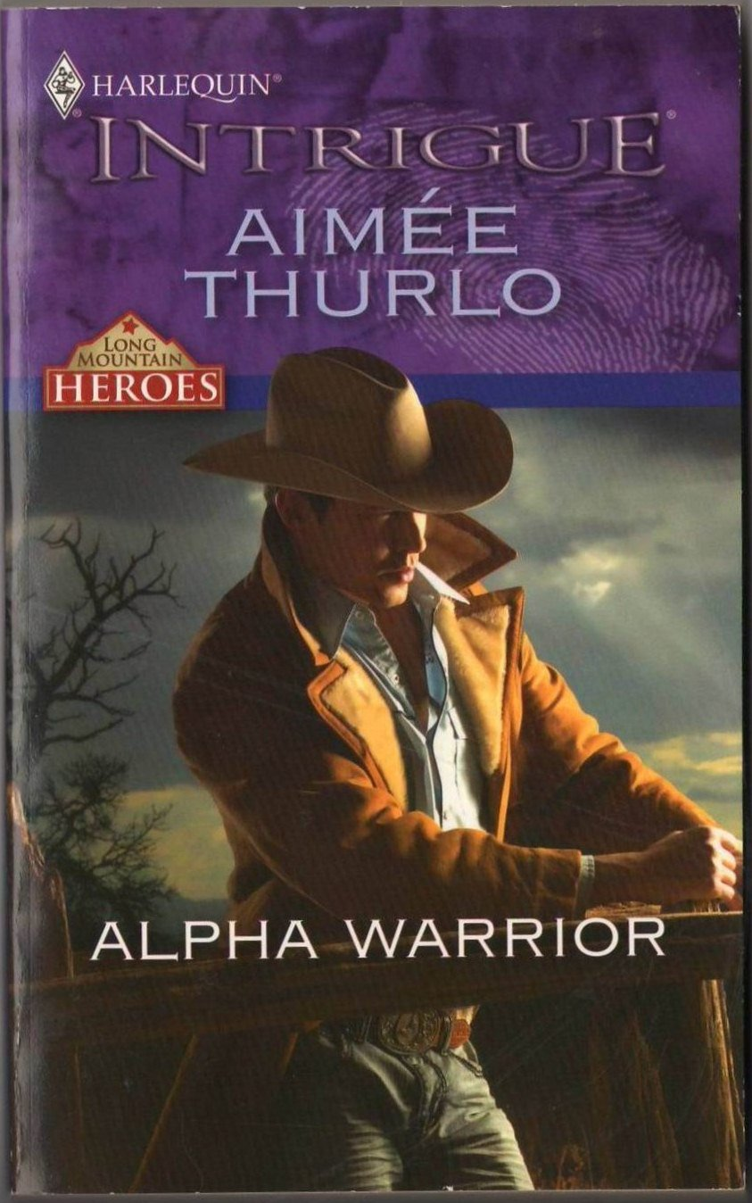 Alpha Warrior by Aimee Thurlo Harlequin Intrigue Fiction Romance Love Novel Book