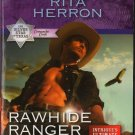 Rawhide Ranger by Rita Herron Harlequin Intrigue Romantic Suspense Love Novel Book