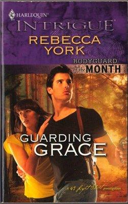 Guarding Grace by Rebecca York Harlequin Intrigue Fiction Romance Love Novel Book