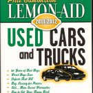 Lemon Aid Used Cars and Trucks 2011 2012 by Phil Edmonston Secret Warranties Book