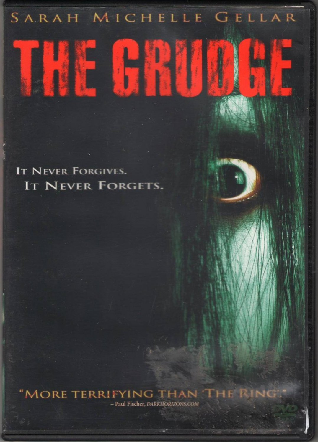 The Grudge Sarah Michelle Gellar Buffy Vengeful Spirit Supernatural PG 13 Region 1 DVD Movie