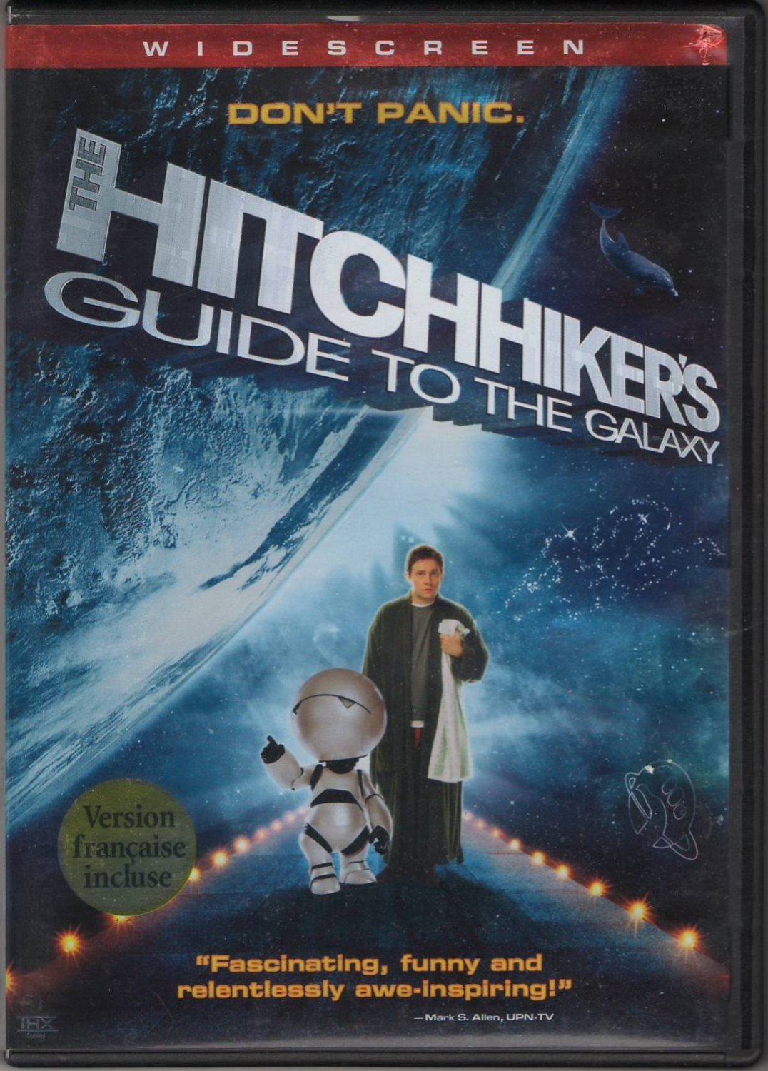 The Hitchhiker's Guide To The Galaxy Widescreen DVD PG Movie Region 1