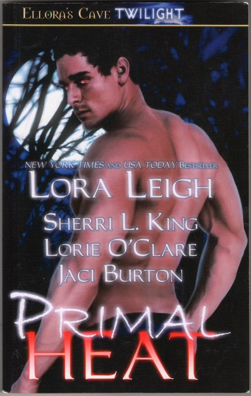 Primal Heat by Lora Leigh Sherri L. King Lorie O'Clare Jaci Burton Erotic Romance Ellora's Cave Book