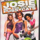 Josie and the Pussycats Rachael Leigh Cook Tara Reid Rosario Dawson Region 1 DVD Movie PG 13