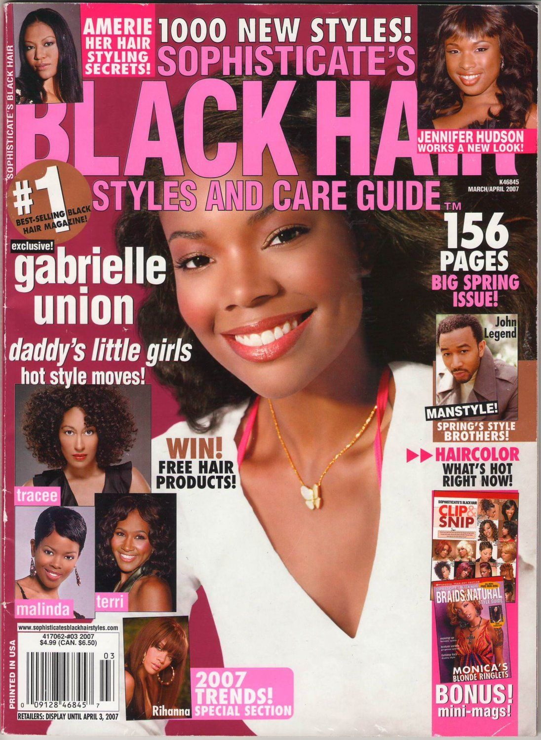 Sophisticate's Black Hair Styles and Care Magazine Guide ...