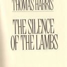 The Silence Of The Lambs by Thomas Harris Fantasy Serial Murderer Hardcover Book Mystery