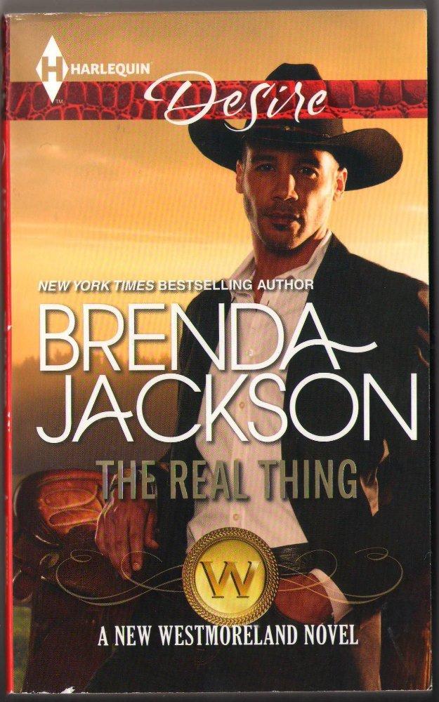 The Real Thing by Brenda Jackson Westmoreland Harlequin Desire Romance Love Novel Book, #2287