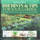 1001 Hints & Tips For Your Garden Hardcover SMC