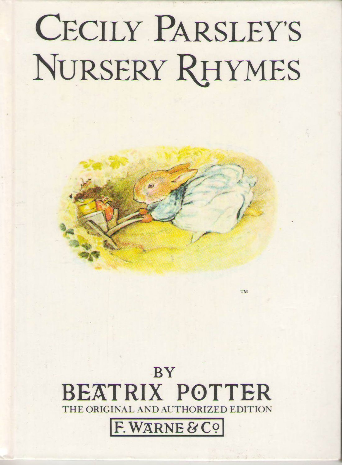 Cecily Parsley's Nursery Rhymes by Beatrix Potter SMC