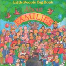 About Families, Little People Big Book, Fisher-Price, Time Life for Children