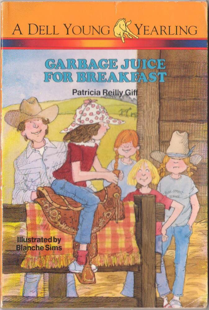 Garbage Juice For Breakfast by Patricia Reilly Giff Softcover Book SMC