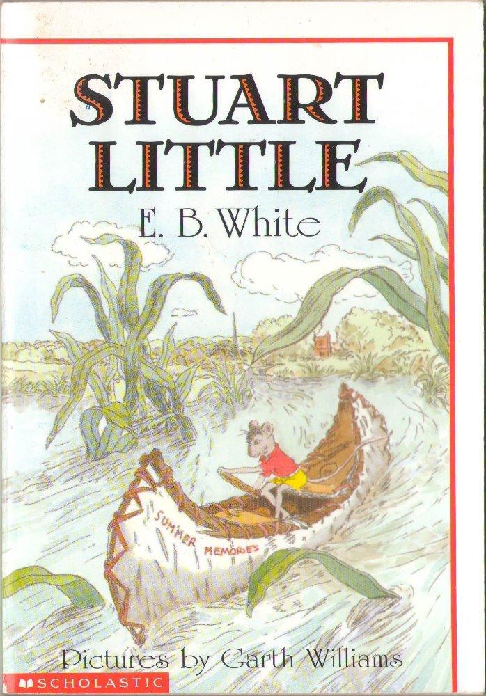 Stuart Little by E. B. White Paperback Book SMC