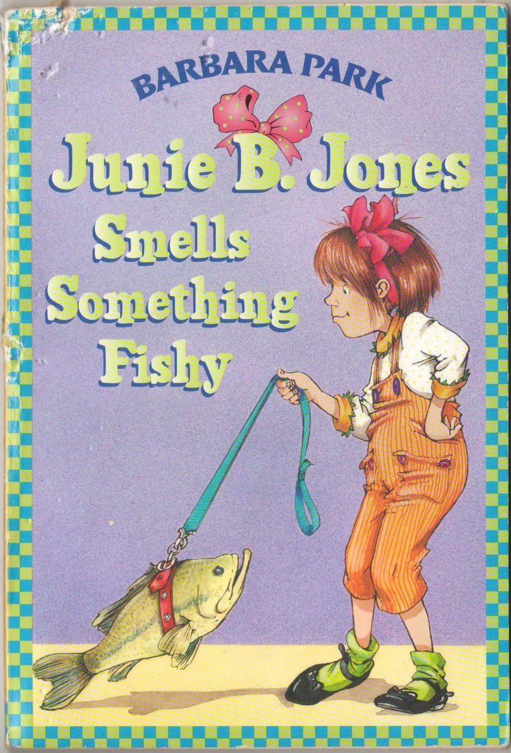 junie b jones smells something fishy book report Bibliography of barbara park  junie b jones smells something fishy  in this junie b book, junie b teaches you how to survive school and what she would do if.