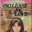 No Lease For Love by Jane Arbor #52, 1964 Romance SMC