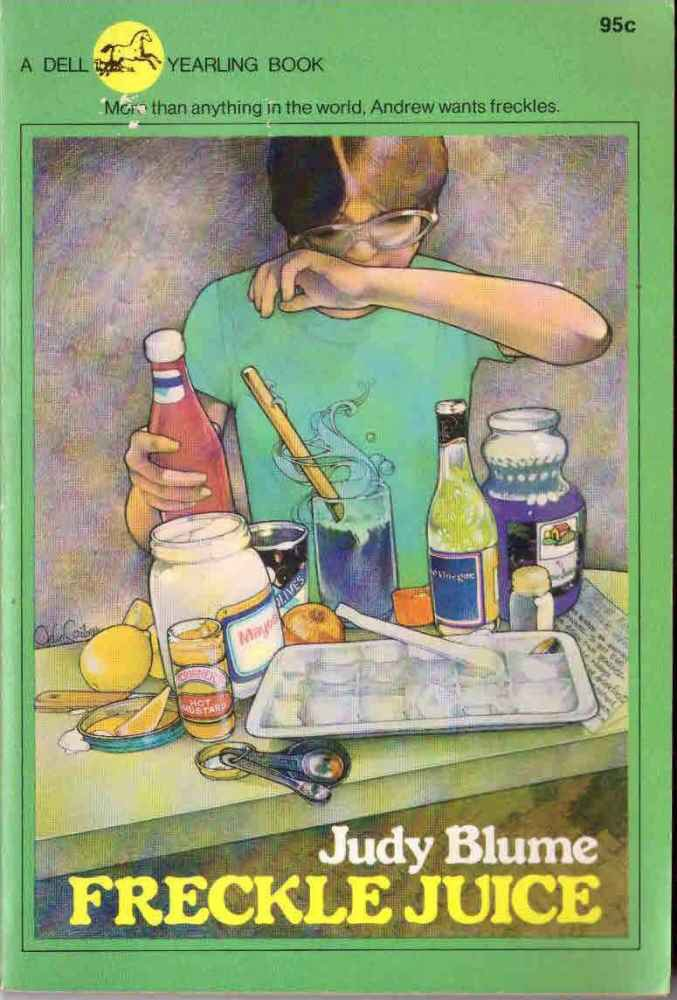 Freckle Juice by Judy Blume Book Novel 0440428130 Paperback SMC