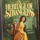 A Heritage Of Strangers by Pamela D'Arcy Novel Paperback