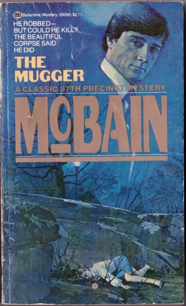The Mugger by Ed McBain Paperback Novel Mystery