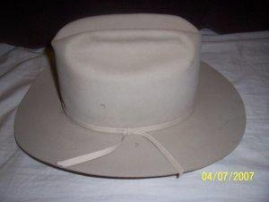 Davis Hats Felt Cowboy Hat 6 7/8  Free Shipping