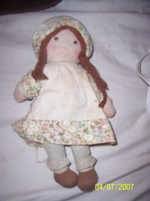 Vintage Holly Hobbie Heather Doll  Free Shipping