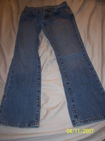 Ralph Lauren Distressed Jeans Womens 4/30  Free Shipping