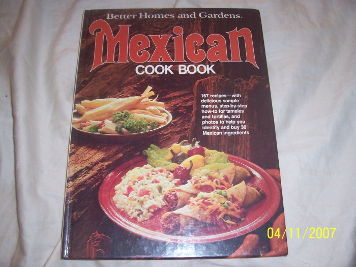 Better Homes & Gardens Mexican Cookbook  Free Shipping