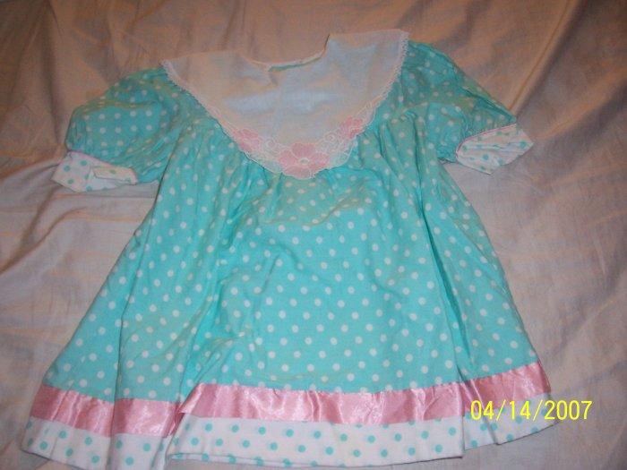 Demi Lass Dress Girls 4T  Free Shipping