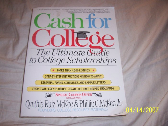 Cash for College  Free Shipping