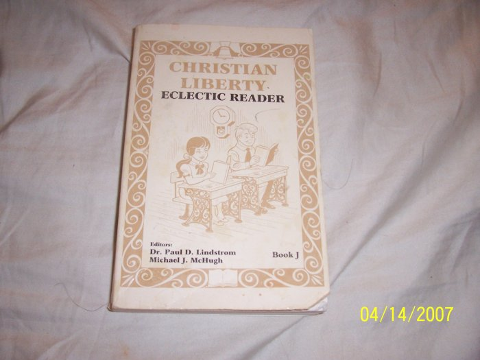Christian Liberty Press Eclectic Reader Book J  Free Shipping