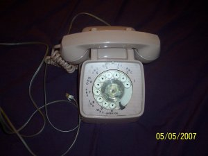 Vintage Retro Dial Telephone  Free Shipping