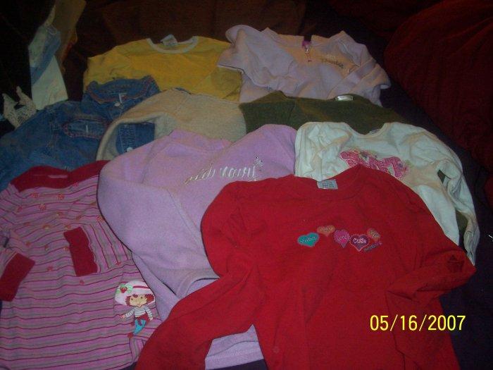 24 Piece Lot Girls Size 4T 4 5  FREE SHIPPING